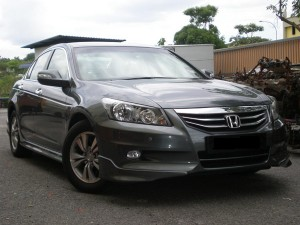HONDA ACCORD 2011 MODULO DESIGN BODYKITS