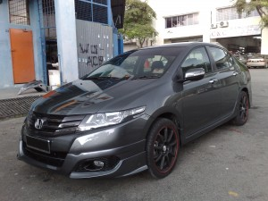 HONDA CITY 2009 MODULO DESIGN BODYKITS