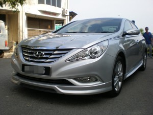 HYUNDAI SONATA 2012 IXION DESIGN BODYKITS