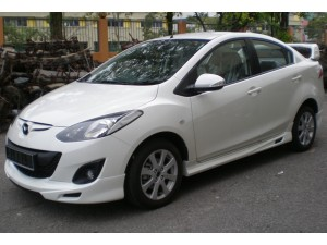 MAZDA 2 SEDAN 2012 RSR DESIGN BODYKITS