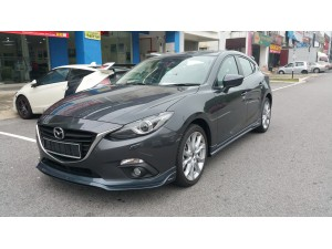 MAZDA 3 2015 HATCHBACK RSR DESIGN BODYKITS