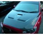 Mitsubishi Lancer Evo X Carbon Fibre Bonnet