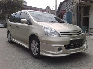 NISSAN LIVINA 2011 AM DESIGN BODYKITS