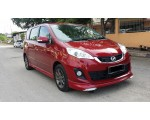 PERODUA ALZA 2014 OEM DESIGN BODYKITS WITH LED