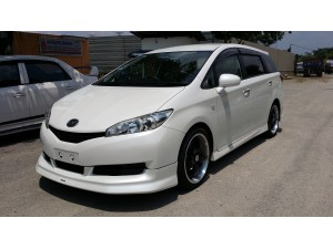 TOYOTA WISH 2009-2013 MODEL X MODELLISTA DESIGN BODYKITS